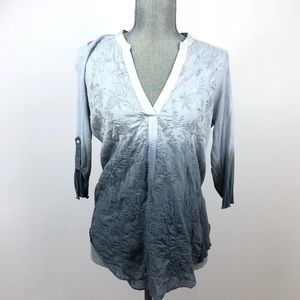 Tiny stitching popover ombré gray sz medium